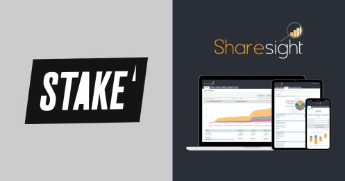 Stake shop for shares sharesight