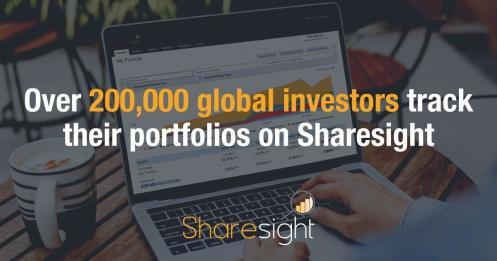 200k global investors use sharesight 0