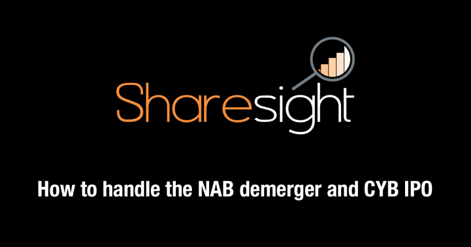 NAB demerger and CYB IPO - Featured