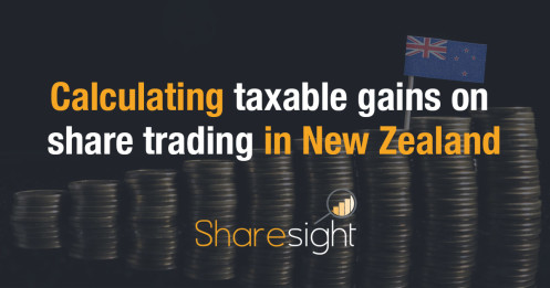 calculating taxable gains on share trading in new zealand