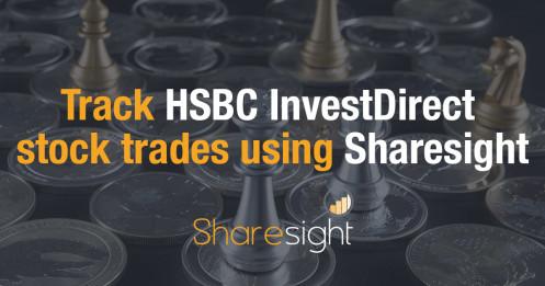 Track HSBC investdirect Sharesight