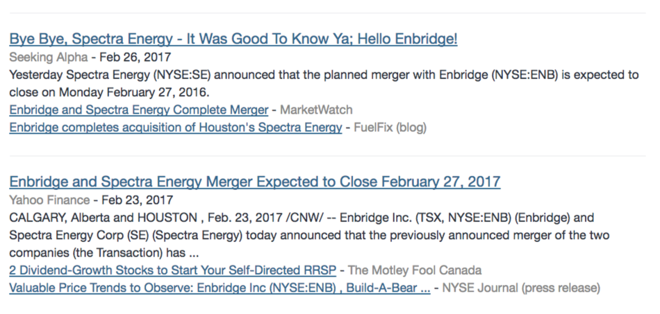 screenshot - Enbridge 3