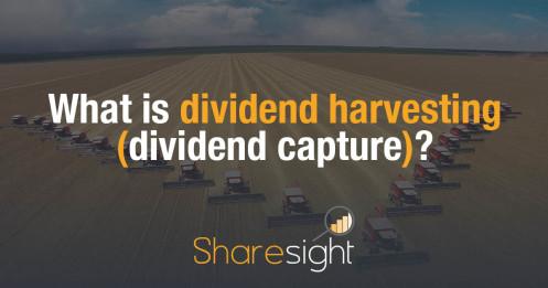 Dividend harvesting - dividend capture