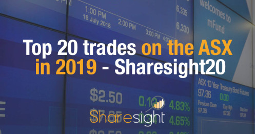 Top 20 trades on the ASX in 2019 - Sharesight20