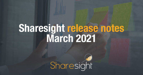 Sharesight Release Notes March 2021