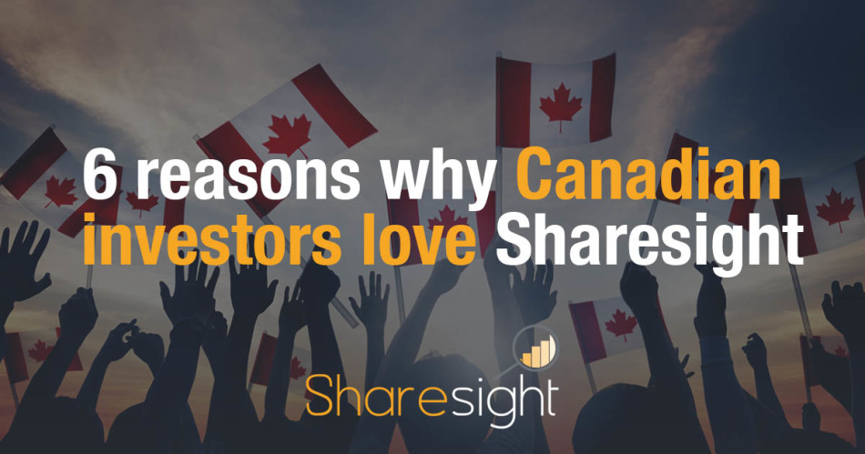 6 reasons why Canadian investors love Sharesight