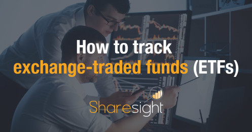 How to track exchange-traded funds (ETFs)