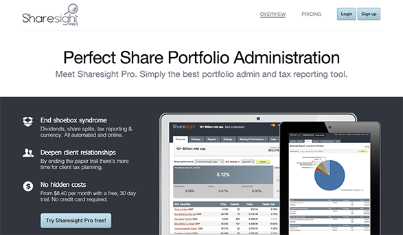 Sharesight Pro