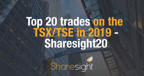 Top 20 trades on the Toronto Stock Exchange in 2019 - Sharesight20