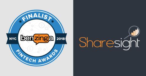 Featured - Sharesight : 2018 Benzinga Global Fintech Awards Finalist