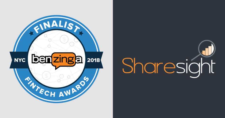 Featured - Sharesight : 2018 Benzinga Global Fintech Awards Finalist