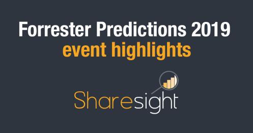 Forresterr Predictions 2019