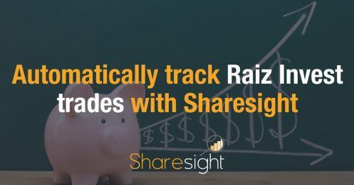 Automatically track Raiz Invest trades with Sharesight