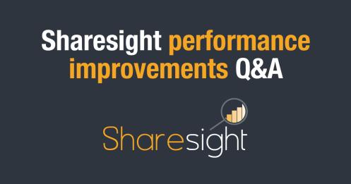 featured - Sharesight performance improvements q&a