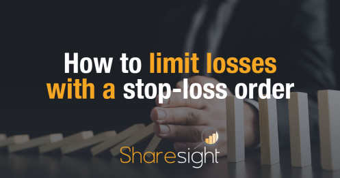 Limit losses stop loss order