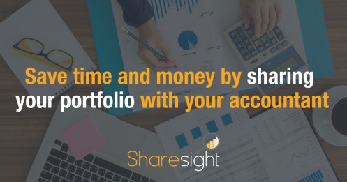 Share your portfolio with your accountant