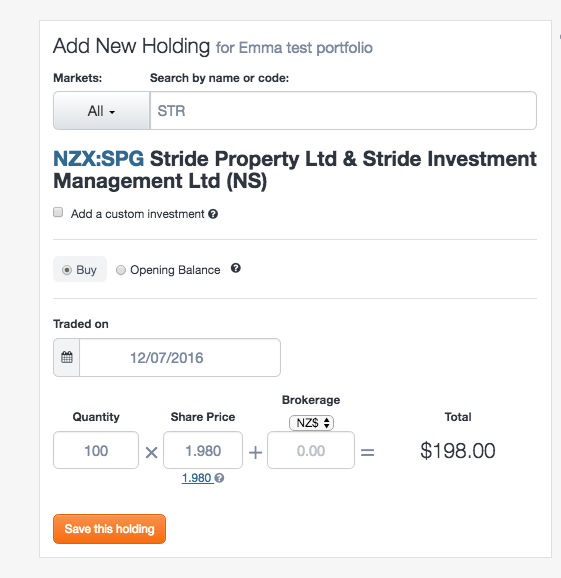 Stride Investore restructure - screenshot 2