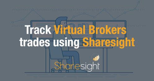 Track Virtual Brokers stock trades