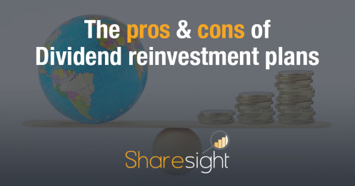 The pros and cons of dividend reinvestment plans