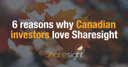Sharesight canada investment tracker