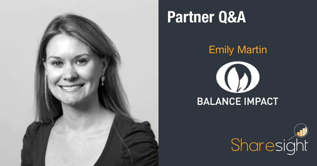 featured - Q&A with Emily Martin of Balance Impact