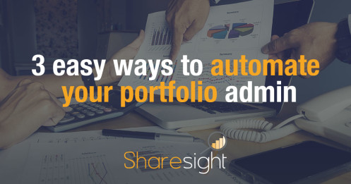 3 easy ways to automate your portfolio admin