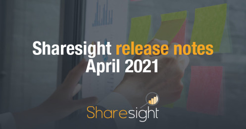 Sharesight Release Notes April 2021
