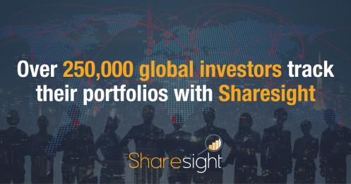 250k global investors using Sharesight