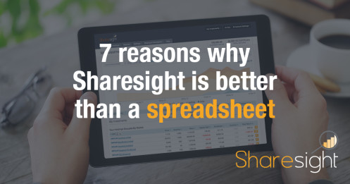 featured - 7 reasons why Sharesight is better than a spreadsheet