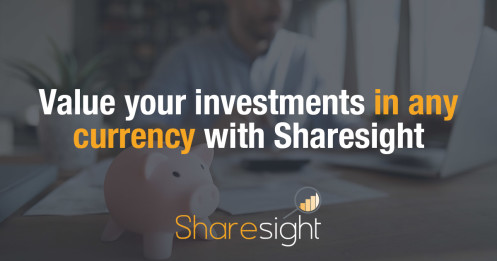 Value your investments in any currency