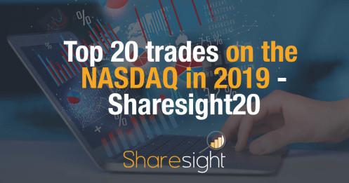 Top 20 trades on the NASDAQ in 2019 - Sharesight20