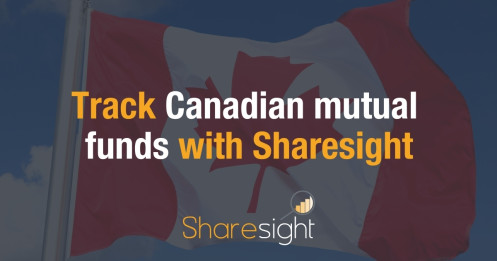 Track Canadian mutual funds with Sharesight (4)