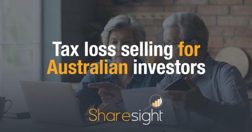 Tax loss selling harvesting Australia