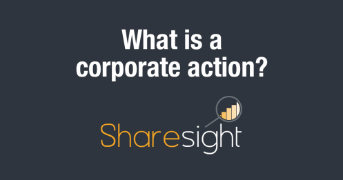 featured - What is a corporate action?