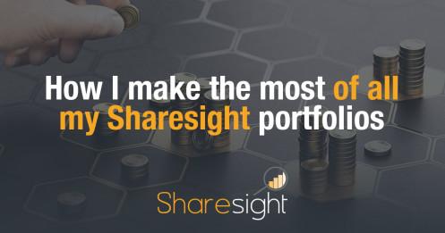Make the most of Shareisght portfolios