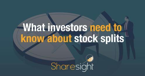 image 0 stock splits