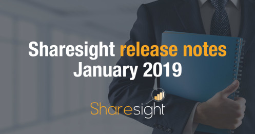 Sharesight Release Notes January 2019