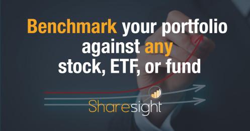 Benchmark your portfolio against any stock ETF managed fund