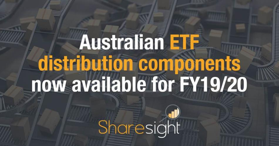 ETF distribution components
