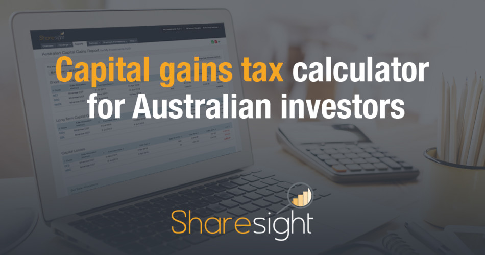 featured - Capital gains tax calculator for Australian investors