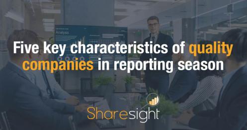 Characteristics of quality companies