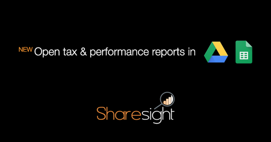 Open Sharesight reports directly in Google Sheets - Featured