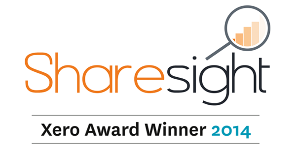 Sharesight Xero Award Winner - featured