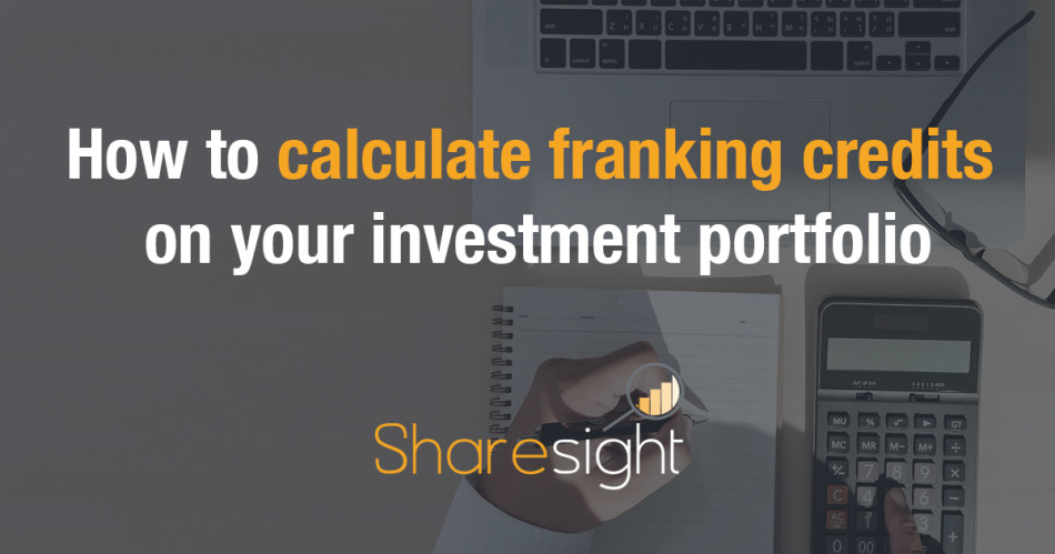 How to calculate franking credits investments
