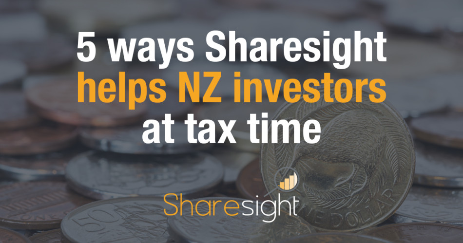featured - 5 ways Sharesight helps NZ investors at tax time