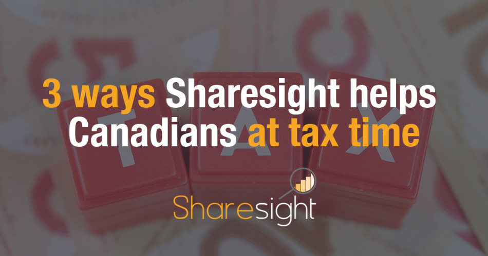 Sharesight Canada Tax Stocks