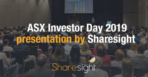 ASX Investor day 2019 Sharesight