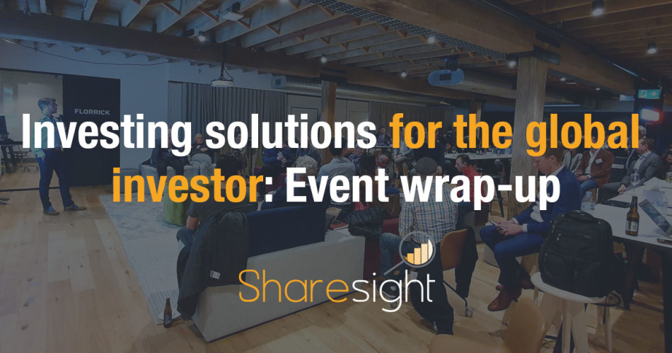 Investing solutions for the global investor event (1)