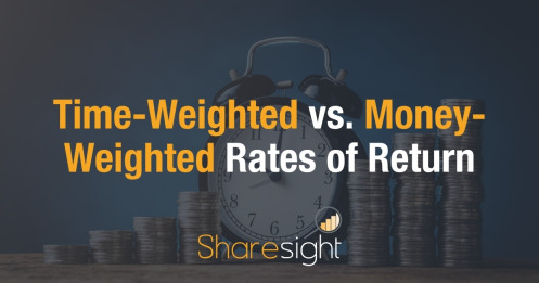 Time or money weighted returns