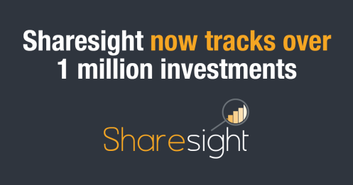 Sharesight tracks 1 million investments